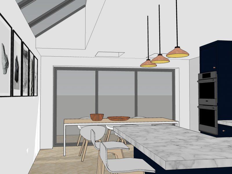 40 Haven Lane interior 3D